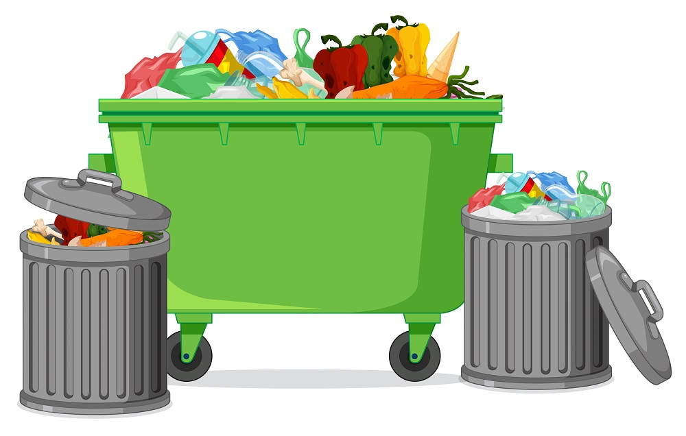 Garbage disposals are a huge help when it comes to food waste.
