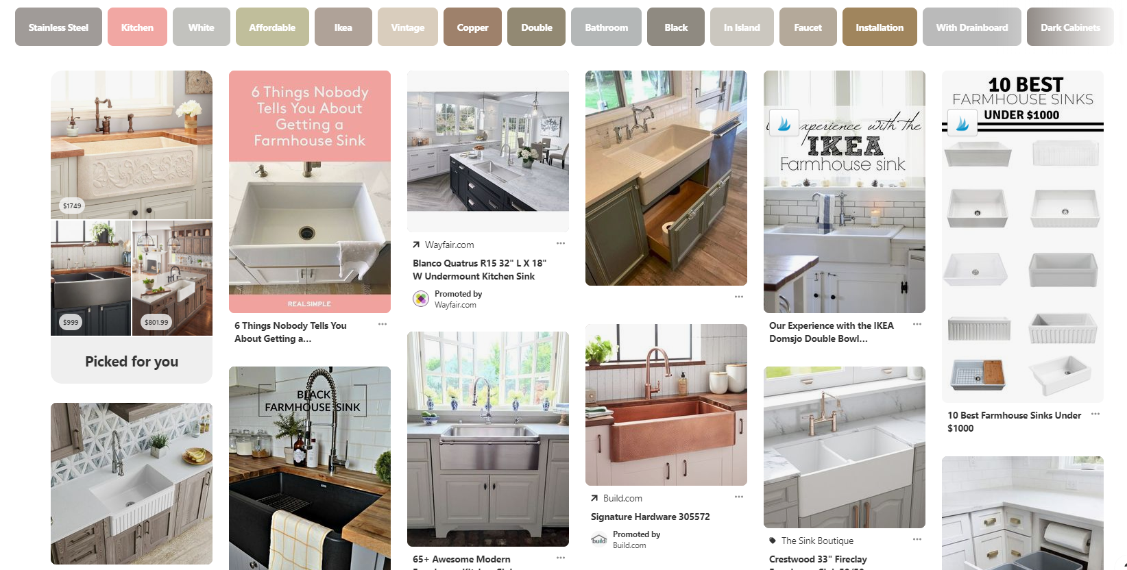 Farmhouse Sinks on Pinterest