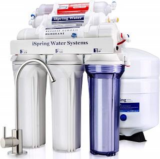 iSpring RCC7AK Reverse Osmosis Water Filtration System