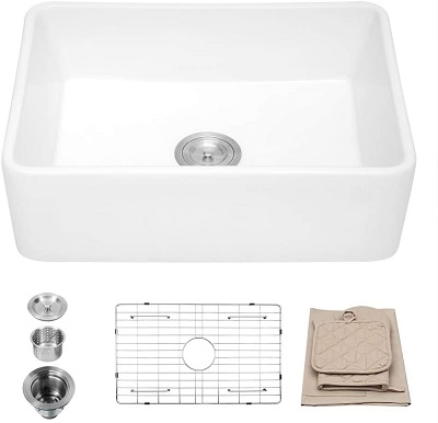 Lordear Farmhouse Sink with Extras