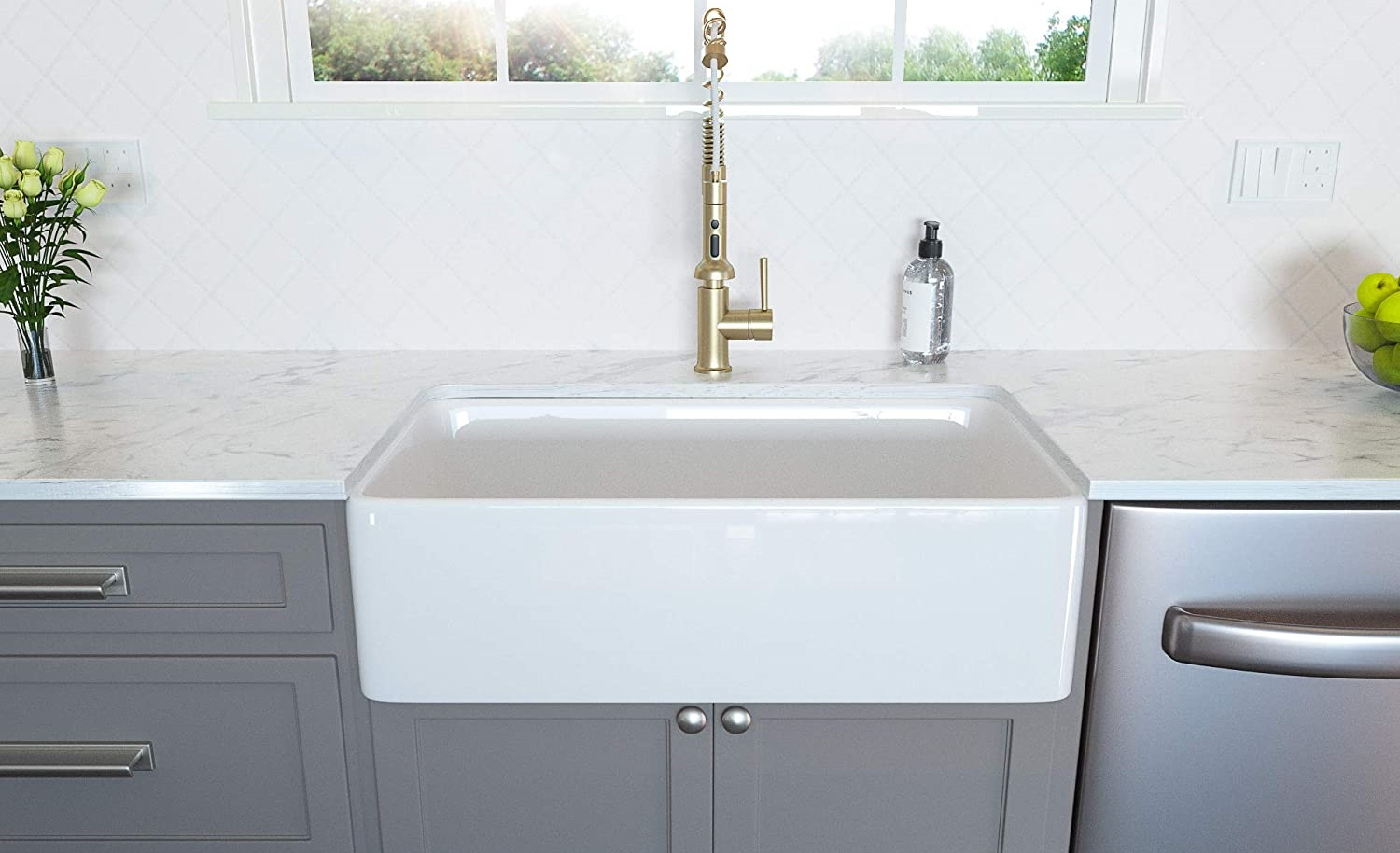 Lordear Farmhouse Sink
